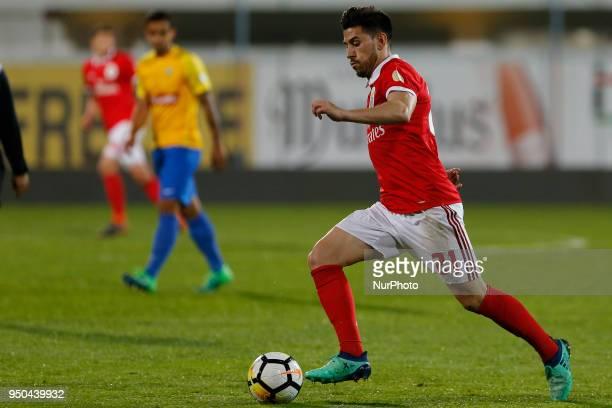 SL Benfcas Forward Pizzi from Portugal during the Premier League 2017/18 match between Estoril Praia v SL Benfica at Estadio Antonio Coimbra da Mota...