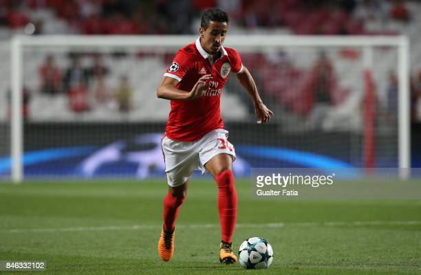 Benfica defender Andre Almeida from Portugal in action during the UEFA Champions League match between SL Benfica and CSKA Moskva at Estadio da Luz on...