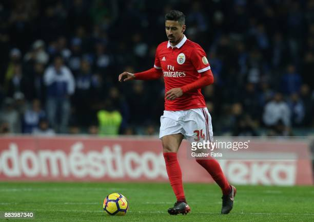 Benfica defender Andre Almeida from Portugal in action during the Primeira Liga match between FC Porto and SL Benfica at Estadio do Dragao on...