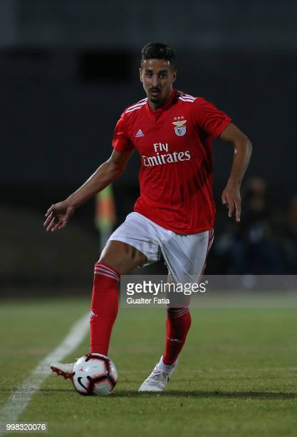Benfica defender Andre Almeida from Portugal in action during the PreSeason Friendly match between SL Benfica and Vitoria Setubal at Estadio do...