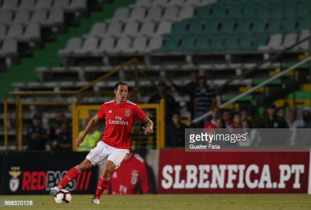 Benfica defender Cristian Lema from Argentina in action during the PreSeason Friendly match between SL Benfica and Vitoria Setubal at Estadio do...