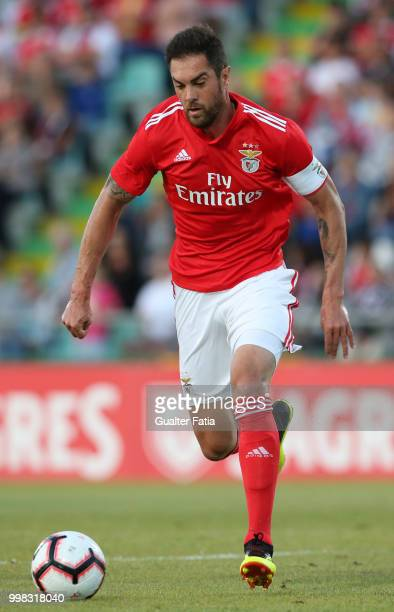 Benfica defender Jardel from Brazil in action during the PreSeason Friendly match between SL Benfica and Vitoria Setubal at Estadio do Bonfim on July...