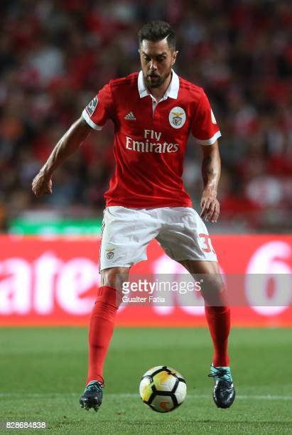 Benfica defender Jardel Vieira from Brasil in action during the Primeira Liga match between SL Benfica and SC Braga at Estadio da Luz on August 9...