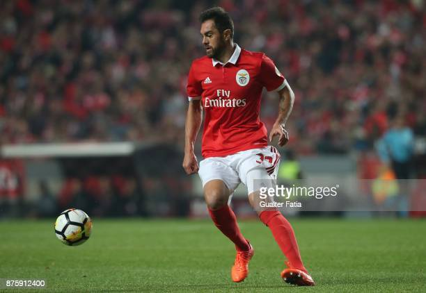 Benfica defender Jardel Vieira from Brazil in action during the Portuguese Cup match between SL Benfica and Vitoria Setubal at Estadio da Luz on...