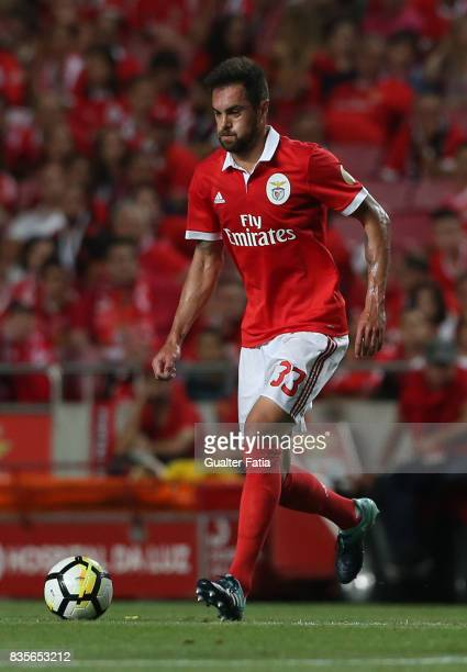 Benfica defender Jardel Vieira from Brazil in action during the Primeira Liga match between SL Benfica and CF Os Belenenses at Estadio da Luz on...