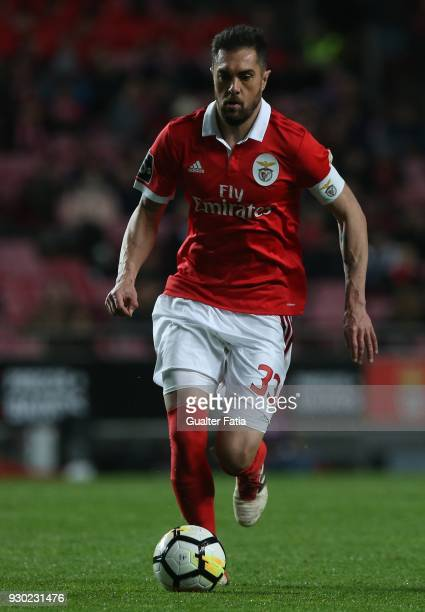 Benfica defender Jardel Vieira from Brazil in action during the Primeira Liga match between SL Benfica and CD Aves at Estadio da Luz on March 10 2018...