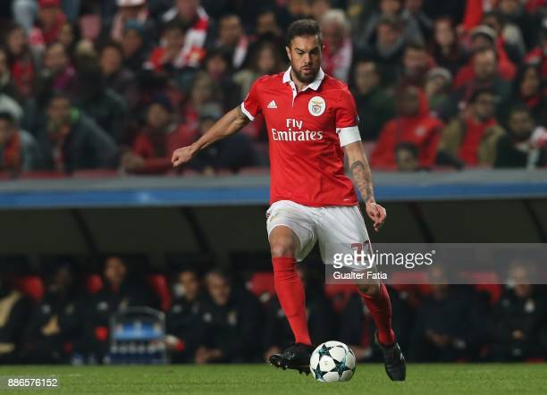 Benfica defender Jardel Vieira from Brazil in action during the UEFA Champions League match between SL Benfica and FC Basel at Estadio da Luz on...