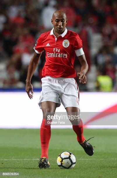 Benfica defender Luisao from Brazil in action during the Primeira Liga match between SL Benfica and Portimonense SC at Estadio da Luz on September 8...