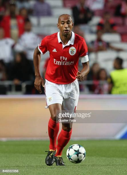 Benfica defender Luisao from Brazil in action during the UEFA Champions League match between SL Benfica and CSKA Moskva at Estadio da Luz on...