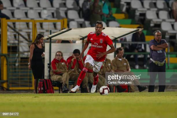 Benfica defender Tyronne Ebuehi from Nigeria during the match between SL Benfica and Vitoria Setubal FC for the Internacional Tournament of Sadoat...