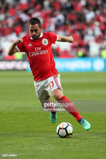Benfica forward Andrija Zivkovic from Serbia during the Primeira Liga match between SL Benfica and Moreirense FC at Estadio da Luz on May 13 2018 in...