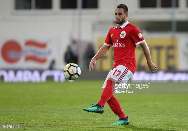 Benfica forward Andrija Zivkovic from Serbia in action during the Primeira Liga match between GD Estoril Praia and SL Benfica at Estadio Antonio...