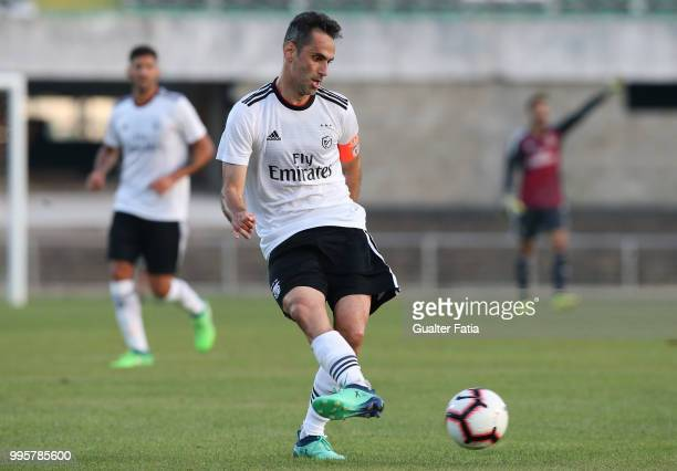 Benfica forward Jonas from Brazil in action during the PreSeason Friendly match between SL Benfica and FK Napredak at Estadio do Bonfim on July 10...
