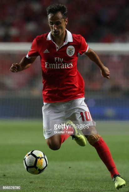 Benfica forward Jonas from Brazil in action during the Primeira Liga match between SL Benfica and Portimonense SC at Estadio da Luz on September 8...