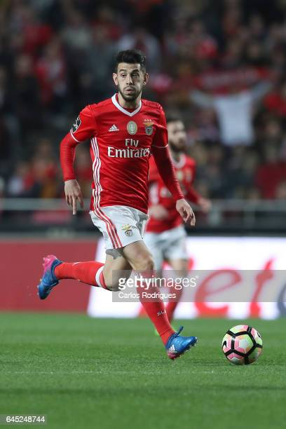 Benfica forward Pizzi from Portugal during the match between SL Benfica and GD Chaves for the Portuguese Primeira Liga at Estadio da Luz on February...