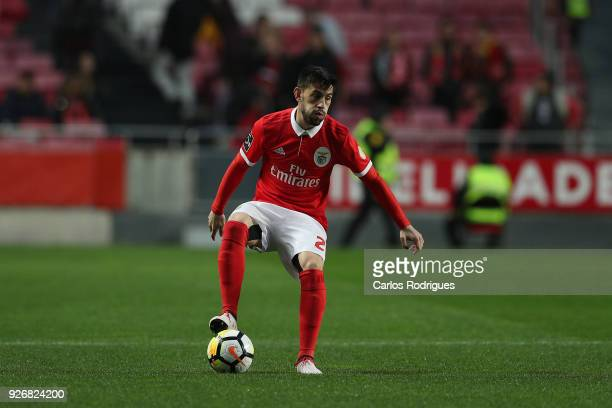 Benfica forward Pizzi from Portugal during the Portuguese Primeira Liga match between SL Benfica and CS Maritime at Estadio da Luz on March 3 2018 in...