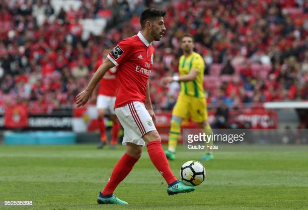 Benfica forward Pizzi from Portugal in action during the Primeira Liga match between SL Benfica and CD Tondela at Estadio da Luz on April 28 2018 in...