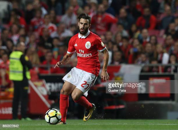Benfica forward Rafa Silva from Portugal in action during the Portuguese League Cup match between SL Benfica and SC Braga at Estadio da Luz on...