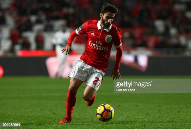 Benfica forward Rafa Silva from Portugal in action during the Primeira Liga match between SL Benfica and Sporting CP at Estadio da Luz on January 3...