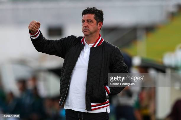 Benfica head coach Rui Vitoria from Portugal during the match between SL Benfica and Vitoria Setubal FC for the Internacional Tournament of Sadoat...