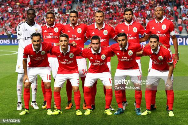 Benfica initial team during SL Benfica v CSKA Moskva UEFA Champions League round one match at Estadio da Luz on September 12 2017 in Lisbon Portugal