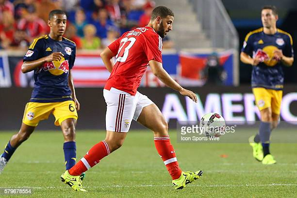 Benfica midfielder Adel Taarabt during the first half of the game between the New York Red Bulls and SL Benfica played at Red Bull Arena in HarrisonNJ