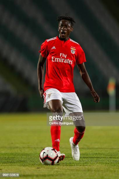 Benfica midfielder Alfa Semedo from Guinea Bissau during the match between SL Benfica and Vitoria Setubal FC for the Internacional Tournament of...