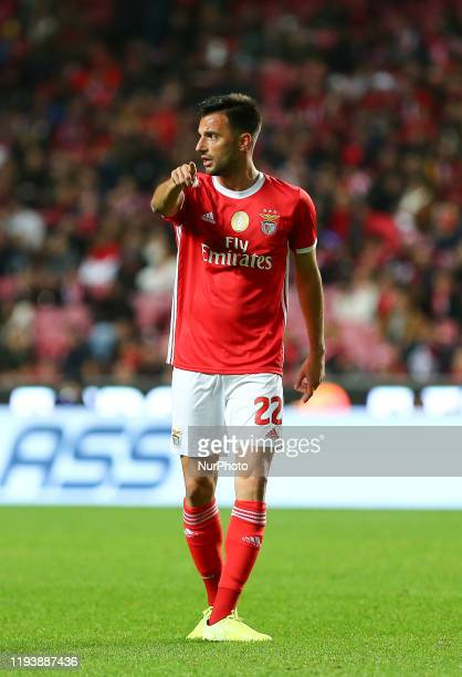 SL Benfica Midfielder Andreas Samaris during the match between SL Benfica and Rio Ave FC for the Portuguese Cup at Luz Stadium on January 14 2020 in...