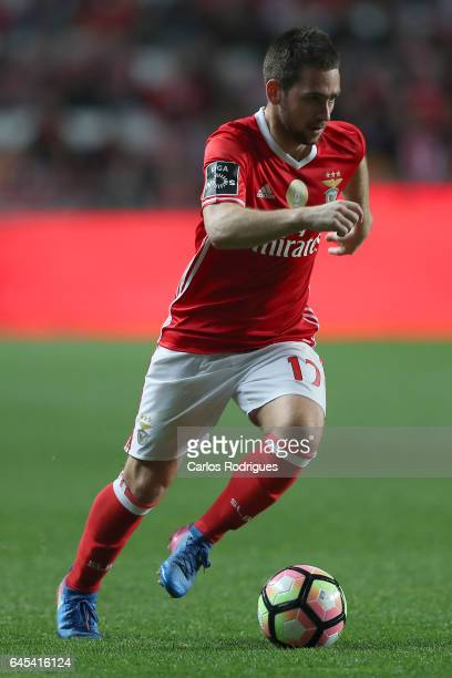 Benfica midfielder Andrija Zivkovic from Serbia during the match between SL Benfica and GD Chaves for the Portuguese Primeira Liga at Estadio da Luz...
