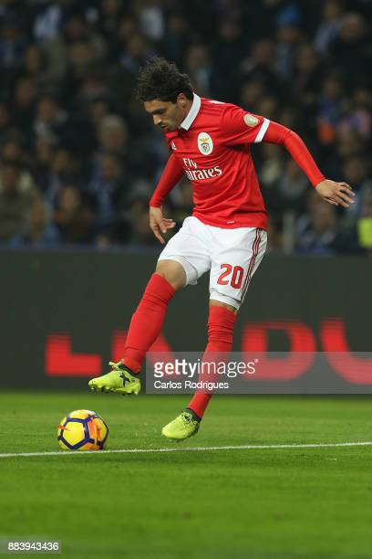 Benfica midfielder Filip Krovinovic from Croatia during the FC Porto v SL Benfica Primeira Liga match at Estadio do Dragao on Dezember 01 2017 in...