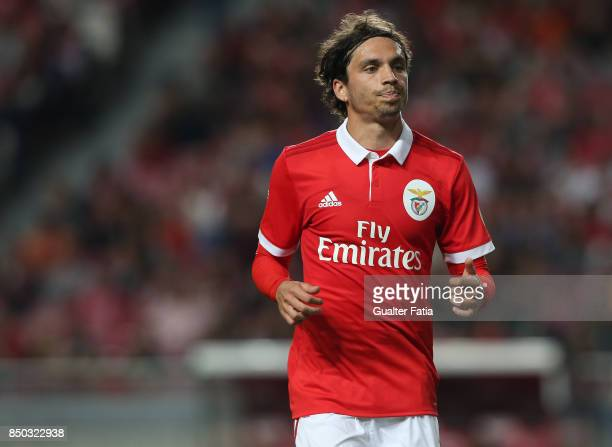 Benfica midfielder Filip Krovinovic from Croatia during the Portuguese League Cup match between SL Benfica and SC Braga at Estadio da Luz on...
