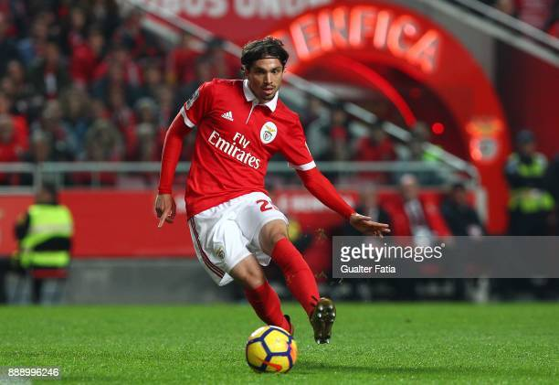 Benfica midfielder Filip Krovinovic from Croatia in action during the Primeira Liga match between SL Benfica and GD Estoril Praia at Estadio da Luz...