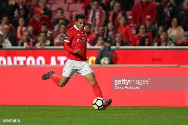 Benfica midfielder Joao Carvalho from Portugal during the Portuguese Primeira Liga match between SL Benfica and Boavista FC at Estadio da Luz on...