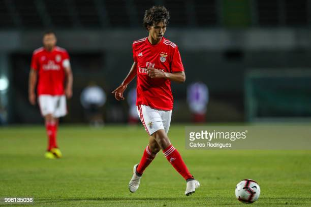 Benfica midfielder Joao Felix from Portugal during the match between SL Benfica and Vitoria Setubal FC for the Internacional Tournament of Sadoat...