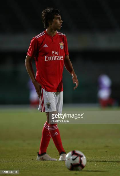 Benfica midfielder Joao Felix from Portugal in action during the PreSeason Friendly match between SL Benfica and Vitoria Setubal at Estadio do Bonfim...