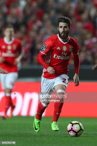 Benfica midfielder Rafa Silva from Portugalduring the match between SL Benfica and GD Chaves for the Portuguese Primeira Liga at Estadio da Luz on...