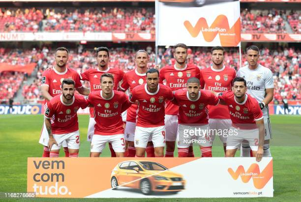 SL Benfica Team Formation during the Premier League 2019/20 match between SL Benfica and Gil Vicente FC at Luz Stadium in Lisbon on September 14 2019