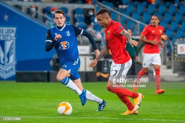 POL: Lech Poznan v SL Benfica: Group D - UEFA Europa League
