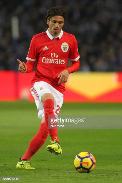 Benfica's Croatian midfielder Filip Krovinovic during the Premier League 2016/17 match between FC Porto and SL Benfica at Dragao Stadium in Porto on...