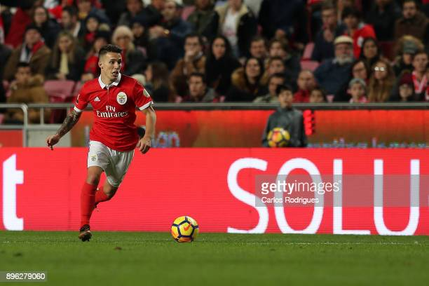 Benfica's defender Alejandro Grimaldo from Spain during the match between SL Benfica and Portimonense SC for the Portuguese Cup at Estadio da Luz on...