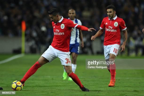 Benfica's defender Andre Almeida from Portugal during the FC Porto v SL Benfica Primeira Liga match at Estadio do Dragao on Dezember 01 2017 in Porto...