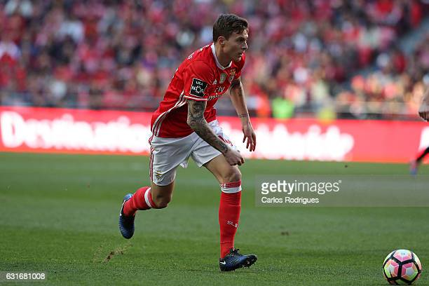 Benfica's defender Andre Almeida from Portugal during the match between SL Benfica and Boavista FC for the Portuguese Primeira Liga at Estadio da Luz...