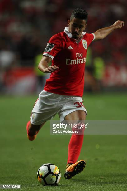 Benfica's defender Andre Almeida from Portugal during the match between SL Benfica and SC Braga for the fruit round of the Portuguese Primeira Liga...