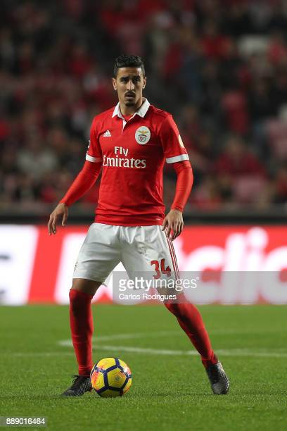 Benfica's defender Andre Almeida from Portugal during the match between SL Benfica and Estoril Praia SAD for the Portuguese Primeira Liga at Estadio...
