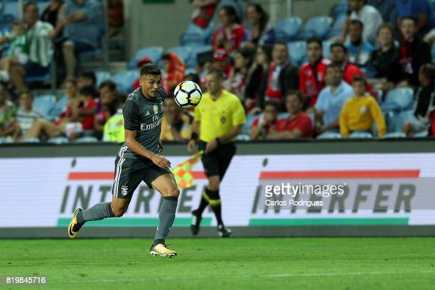 Benfica's defender Diogo Goncalves from Portugal during the PreSeason Algarve Cup match between SL Benfica and Real Betis FC at Estadio do Algarve on...