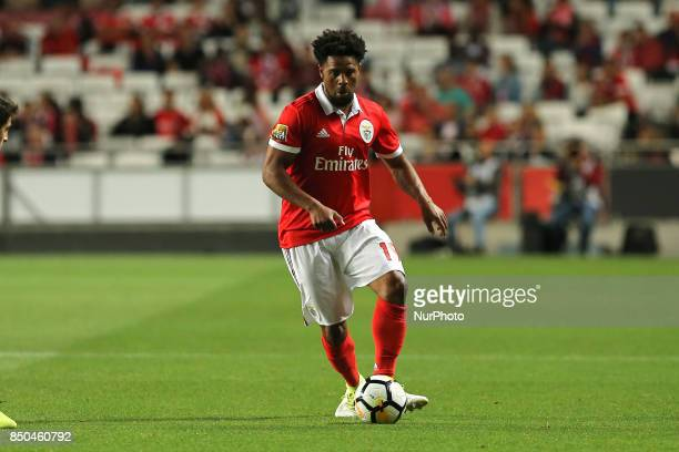 Benficas defender Eliseu from Portugal during the Portuguese Cup 2017/18 match between SL Benfica v SC Braga at Luz Stadium in Lisbon on September 20...