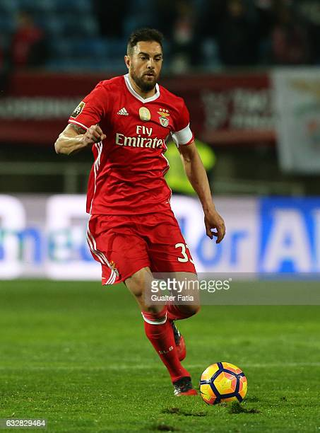 Benfica's defender from Brazil Jardel in action during Portuguese League Cup Semi Final match between SL Benfica and Moreirense FC at Estadio Algarve...