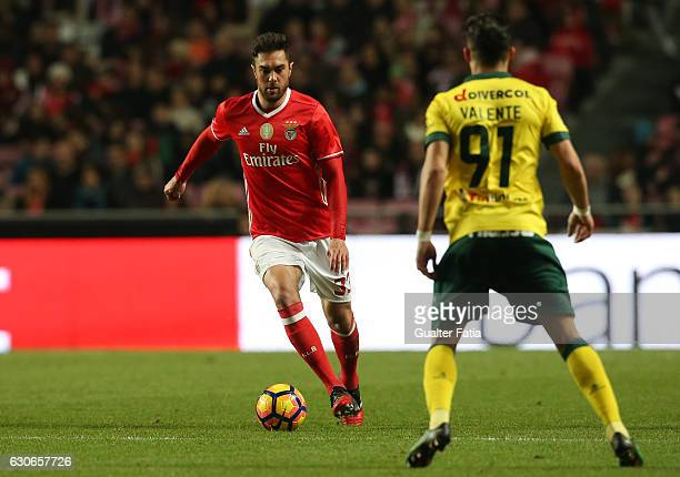 Benfica's defender from Brazil Jardel in action during the Primeira Liga match between SL Benfica and FC Pacos de Ferreira at Estadio da Luz on...