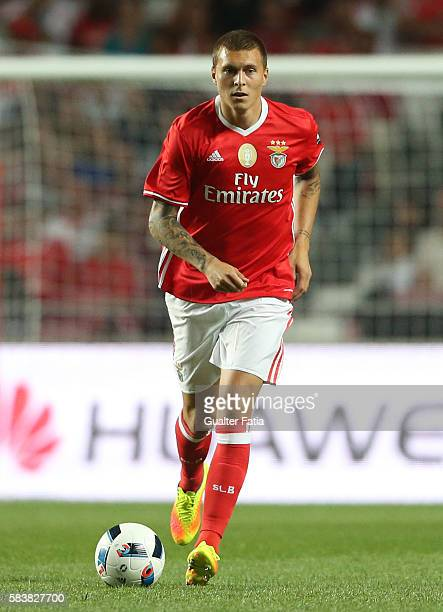 Benfica's defender from Sweden Victor Lindelof in action during the Eusebio Cup match between SL Benfica and Torino at Estadio da Luz on July 27 2016...