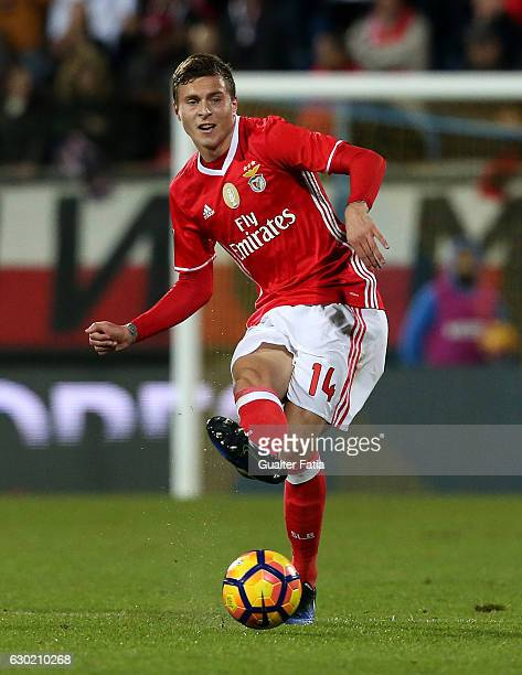 BenficaÕs defender from Sweden Victor Lindelof in action during the Primeira Liga match between GD Estoril Praia and SL Benfica at Estadio Antonio...